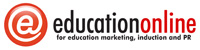 Education Online Logo Red 200 50 60per