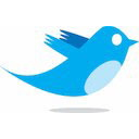 Twitter Logo Blue Bird 128 128